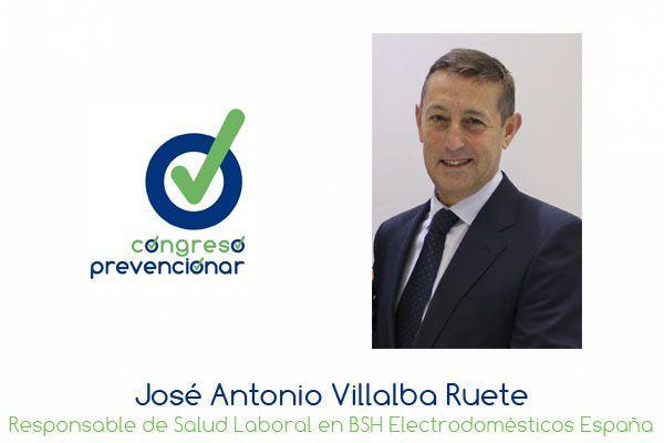"""J.A. Villalba Ruete """"La inversión en Salud Laboral genera recompensas en múltiples ámbitos"""""""