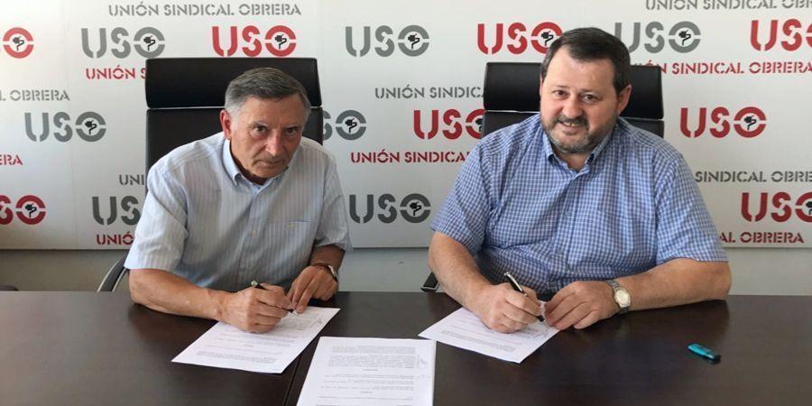 USO y Alcohólicos Anónimos firman un acuerdo para prevenir el alcoholismo en los centros de trabajo