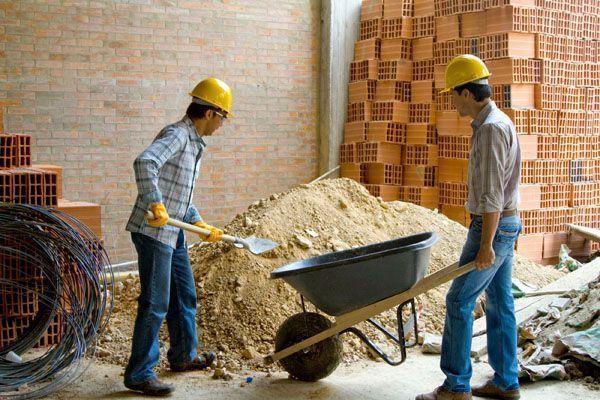 Seguridad laboral en obras de construcción menores