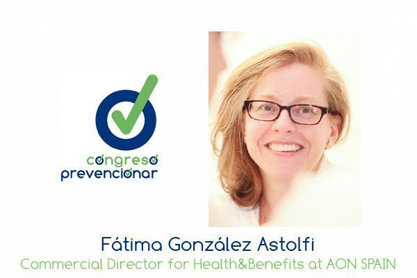 """Fátima González """"En Aon creemos que cuidar a las personas es cuidar a la organización"""""""