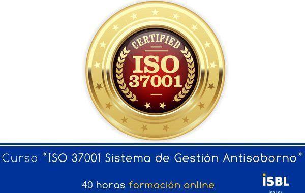 Curso OnLine: ISO 37001 Sistemas de Gestión Antisoborno