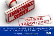 """Curso Online: OHSAS 18001: 2007 – """"Sistemas de Gestión de la Seguridad y Salud en el Trabajo"""""""