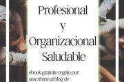 """""""Excelencia Profesional y Organizacional Saludable"""" Nuevo ebook gratuito"""