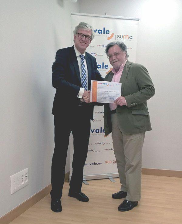 umivale reconoce al Grupo EDP en España por su apuesta por la salud laboral