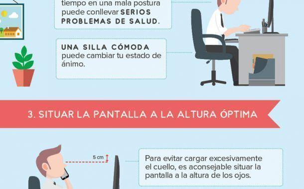 10 PrevenConsejos para optimizar tu lugar de trabajo