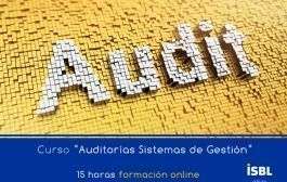 Curso Online: Básico auditorias sistemas de gestión