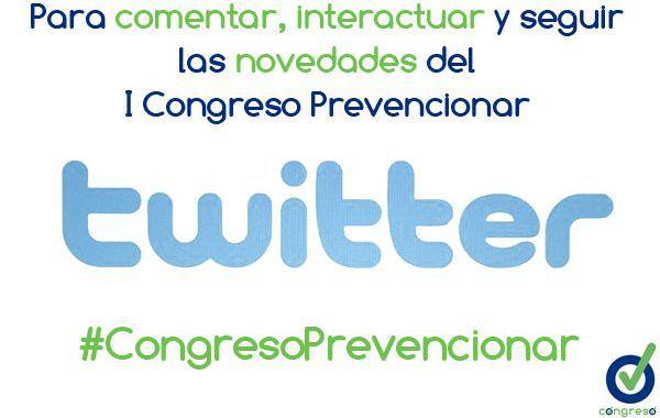Ya está disponible el hashtag del I Congreso Prevencionar