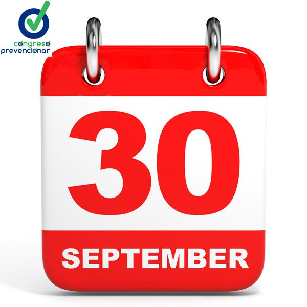 Congreso Prevencionar - 30 septiembre fecha límite para inscripciones