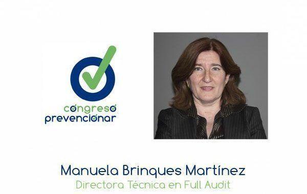 """Manuela Brinques """"La conciencia social que hay respecto al medio ambiente no ha llegado todavía a la salud laboral"""""""