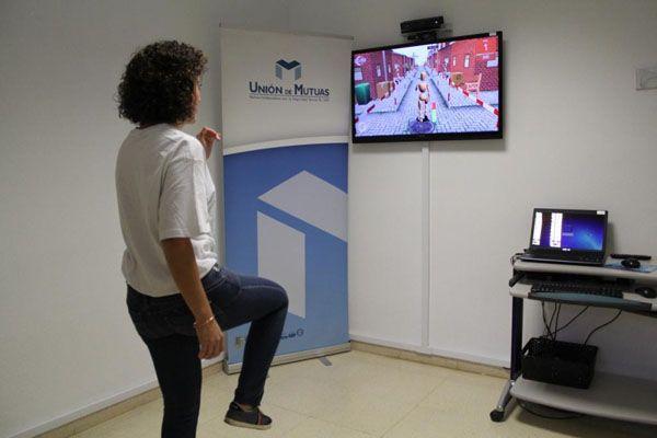 Unión de Mutuas amplía los servicios de realidad virtual para mejorar la rehabilitación de los pacientes