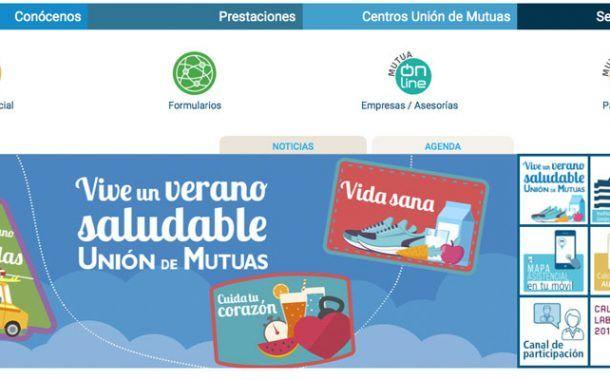 Unión de Mutuas estrena nueva web corporativa