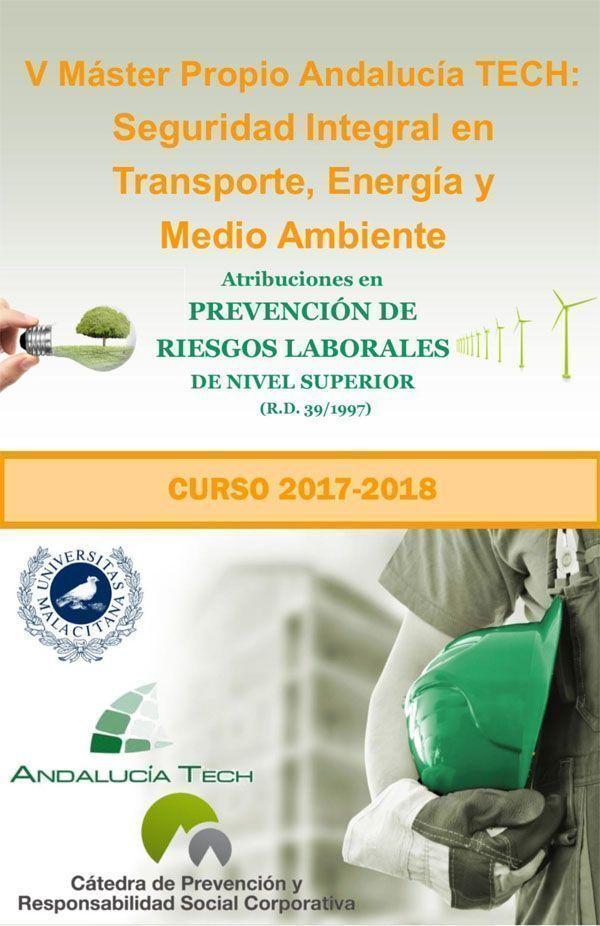 5º Máster Propio Andalucía Tech en Seguridad Integral en Transporte, Energía y Medio Ambiente