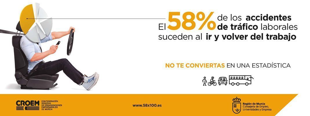 CROEM pone en marcha una campaña divulgativa para reducir los accidentes in itinere