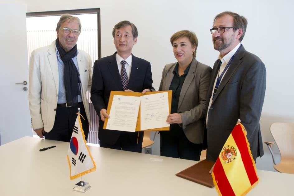 Corea del Sur y el Parque de las Ciencias de Granada, unidos por la cultura de la prevención
