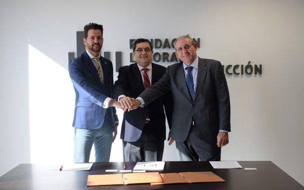 Servicios de Prevención Ajenos y Fundación Laboral de la Construcción firman un acuerdo de colaboración
