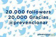 20.000 followers en Twitter - 20.000 Gracias!!!
