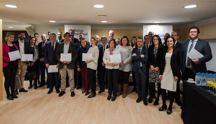 Entrega 'Bonus Prevención' a empresas de la comunidad Madrid asociadas a Mutua Universal