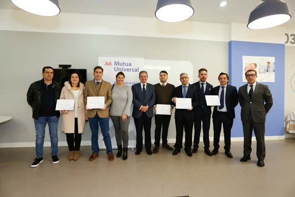 Mutua Universal entrega el Bonus Prevención a empresas gallegas asociadas