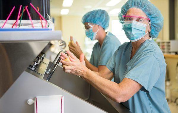 Intervención educativa sobre lavado de manos en el personal de enfermería: fase diagnóstica
