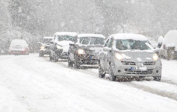 PrevenConsejo: Conducción en invierno con hielo y nieve
