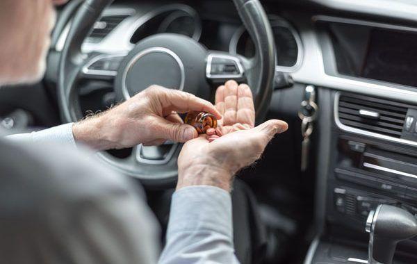 Las drogas al volante matan