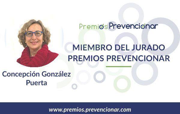 Concepción González Puerta miembro del Jurado de los Premios Prevencionar 2020