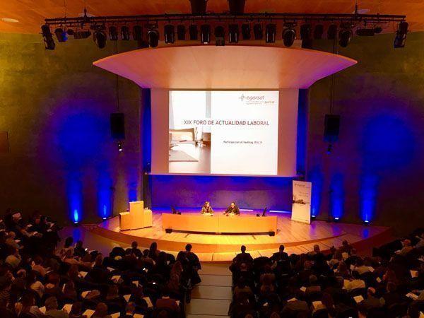 Egarsat cierra la 19ª edición del Foro de Actualidad Laboral con 1.500 asistentes