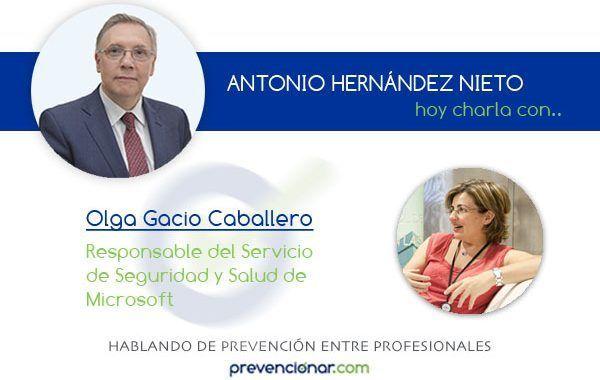 Olga Gacio Caballero, una profesional de la prevención optimista gestionando oportunidades