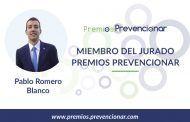 Pablo Romero Blanco miembro del Jurado de los Premios Prevencionar 2020