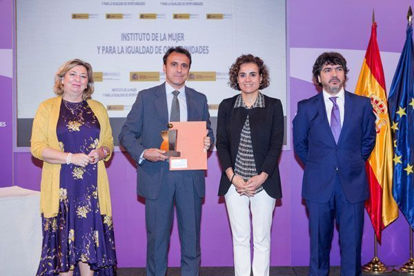 El Ministerio de Sanidad premia la política de Igualdad de Unión de Mutuas