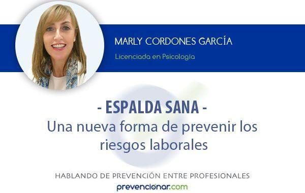 Una nueva forma de prevenir los riesgos laborales: Espalda Sana