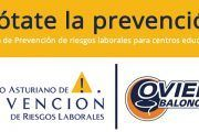 El programa 'Anótate la Prevención' del Oviedo Baloncesto llegó a Avilés
