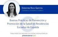 Buenas prácticas de prevención y promoción de la salud en Residencias. Escuelas de la Espalda