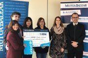 Los trabajadores de Mutua Balear colaboran con Unicef