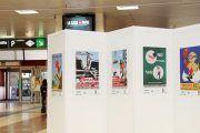Adif y Fraternidad-Muprespa presentan una Exposición de carteles de prevención del S. XX en la estación Madrid Chamartín