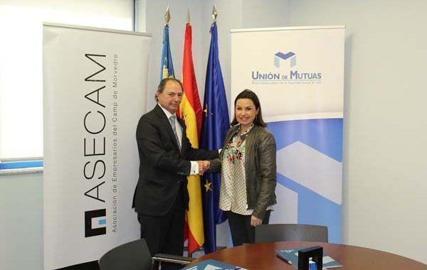 ASECAM y Unión de Mutuas colaboran en la promoción de la salud y la seguridad laboral