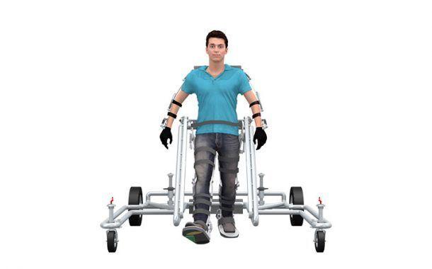 Un exoesqueleto diseñado en Murcia podría dar autonomía a lesionados medulares