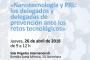 Jornada «Nanotecnología y PRL: los delegados y delegadas de prevención ante los retos tecnológicos»