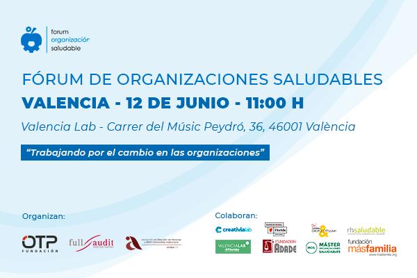 6ª Edición del Fórum de Organizaciones Saludables