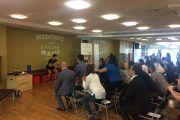 Más de 30 empresas comparten ejercicios para una vida laboral saludable en un taller de AICA