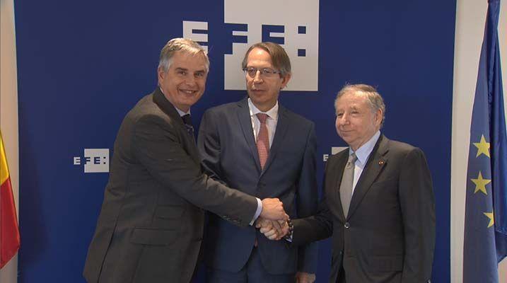 La Agencia EFE y el RACE firman un acuerdo para potenciar la seguridad vial