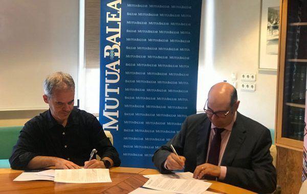 Mutua Balear y ASPROM firman un convenio que permitirá la inclusión socio-laboral de discapacitados sobrevenidos por causa laboral