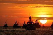 Riesgos en el embarque y desembarque de buques pesqueros
