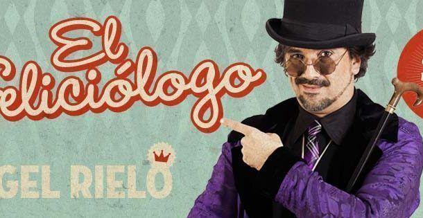 """Ángel Rielo """"El FELICIOLOGO"""" estará presente en la gala de los Premios Prevencionar 2018"""