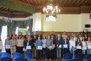 Fraternidad-Muprespa entrega a sus empresas en Gipuzkoa el reconocimiento a la prevención y reducción de la siniestralidad