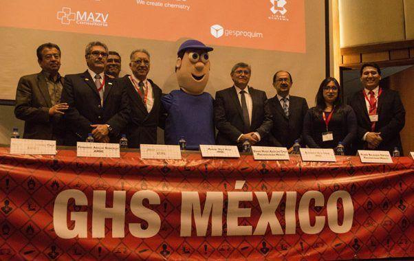 Más de 300 asistentes en las jornadas organizas por Prevencionar México para promover la aplicación del GHS