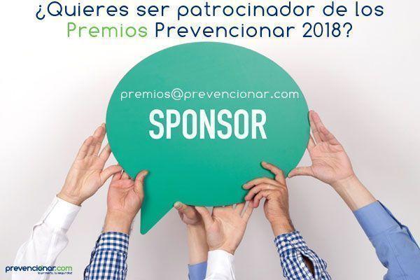 ¿Te gustaría ser sponsor de los II Premios Prevencionar?