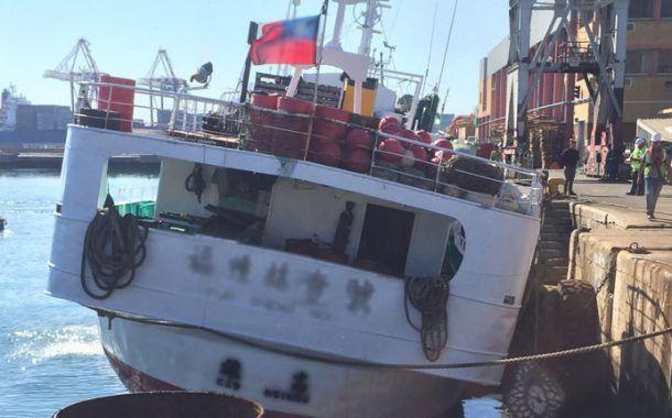 El primer buque pesquero inmovilizado en virtud del Convenio de la OIT sobre el trabajo en la pesca