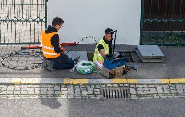 Guía para la prevención de riesgos laborales en el mantenimiento de redes de alcantarillado