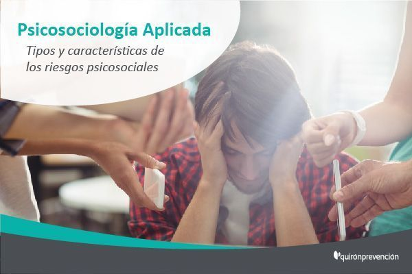 ¿Conoces las 6 características de los riesgos psicosociales?